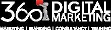 360 logo white
